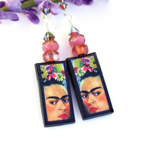 frida kahlo self portrait jewelry