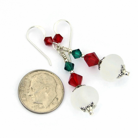 Christmas gift idea - handmade earrings.