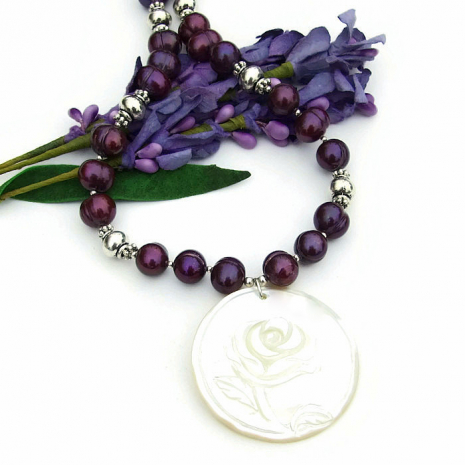 mothers day necklace gift idea.