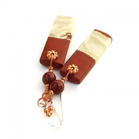 gemstone earrings for women