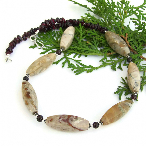 gemstone jewelry gift for her