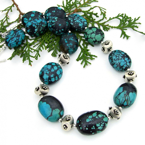 Southwest turquoise jewelry gift idea for her