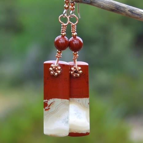 red river jasper gemstone jewelry for women