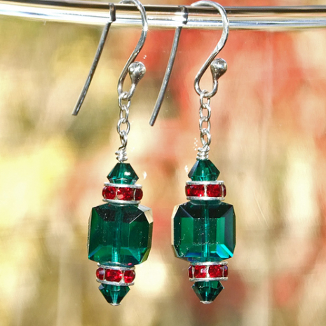 Christmas earrings gift idea