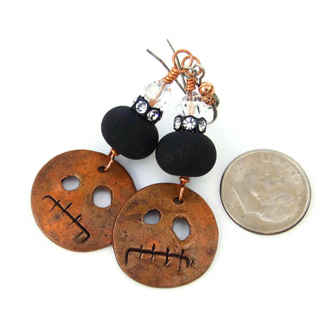 Unique Halloween jewelry for her