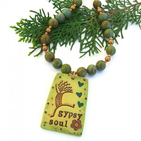 Gypsy Soul necklace.