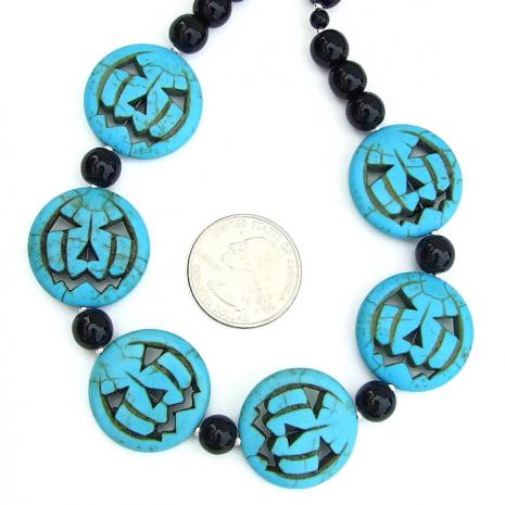 Jack O Lantern Halloween jewelry