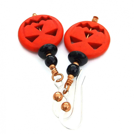 halloween pumpkins jewelry gift for women