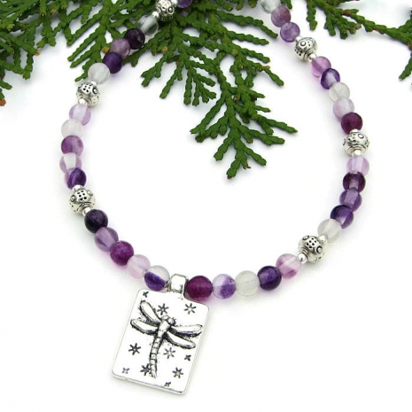 dragonfly necklace gift for women