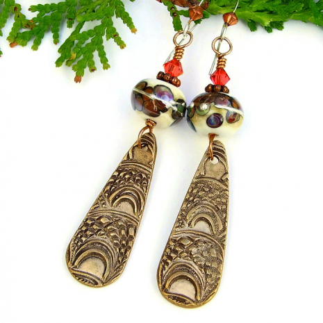 Marrakech inspired bronze jewelry for women