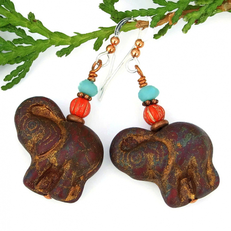 elephant jewelry gift idea for women