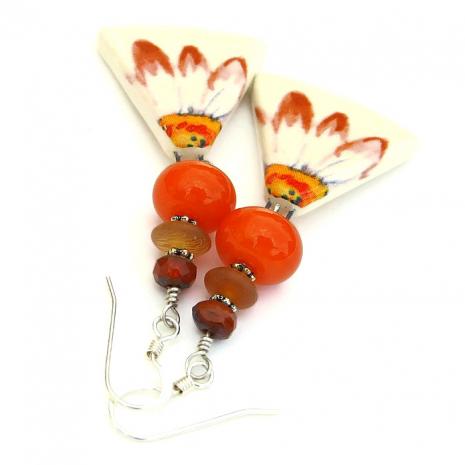 handmade daisy jewelry