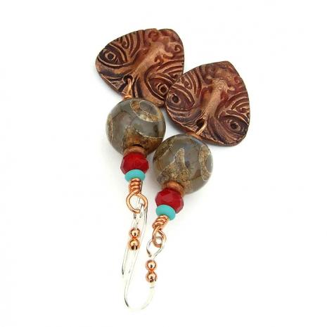 ethnic boho jewelry for her