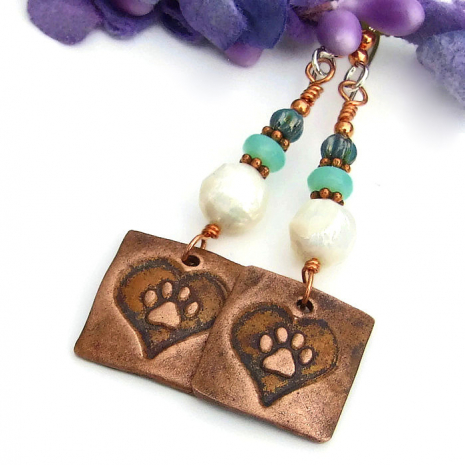 dog lover earrings for women