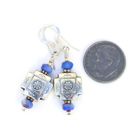 handmade pewter cross jewelry