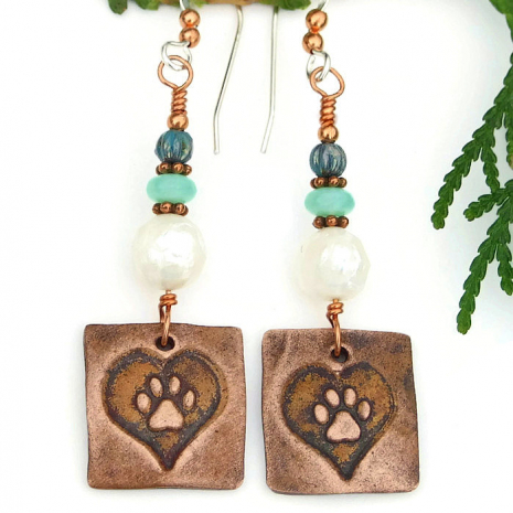 dog lover jewelry gift idea for women