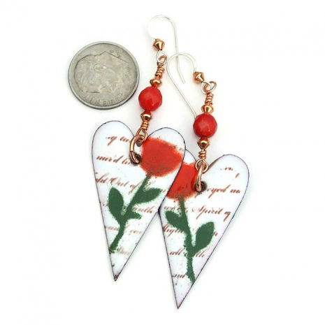 mothers day hearts and roses jewelry