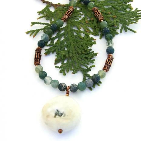 Solar quartz stalactite pendant necklace.