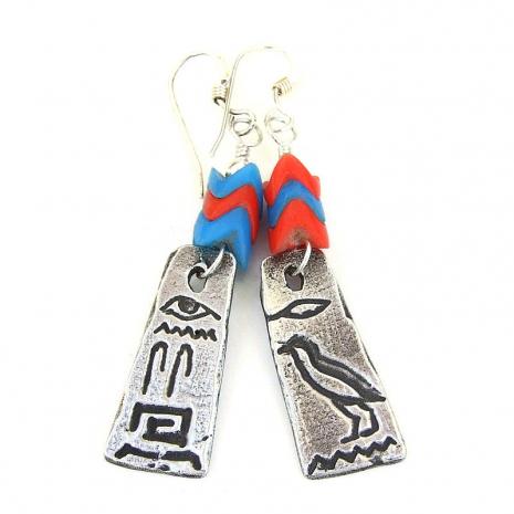 hieroglyphs handmade jewelry
