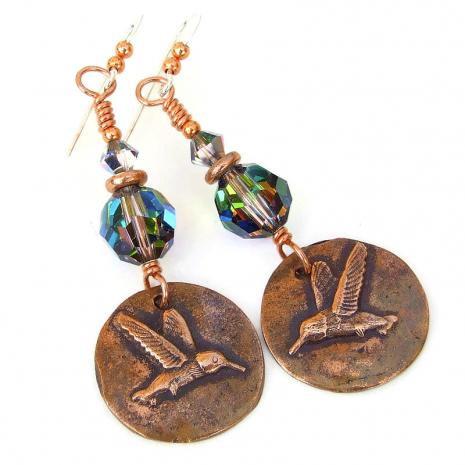 hummingbird jewelry gift for women