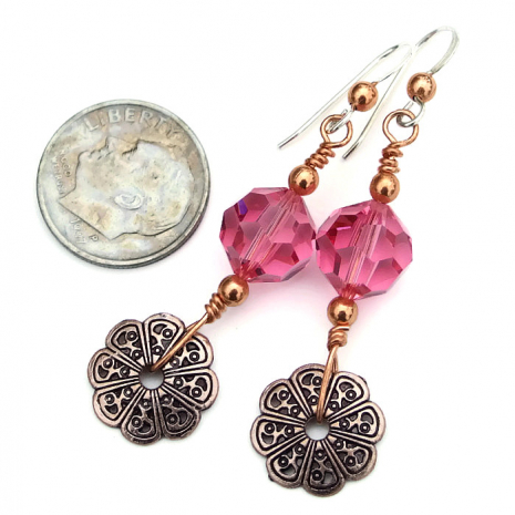 Fashion earrings for women.