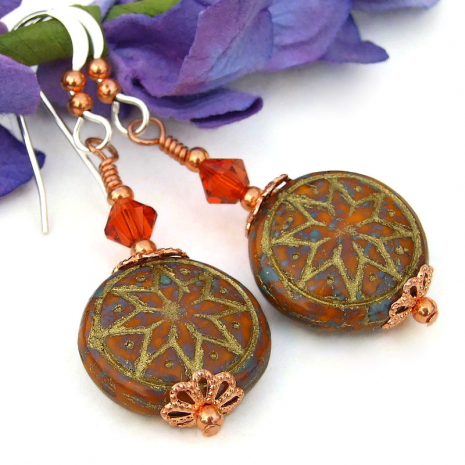 ishtar goddess symbol jewelry swarovski crystals