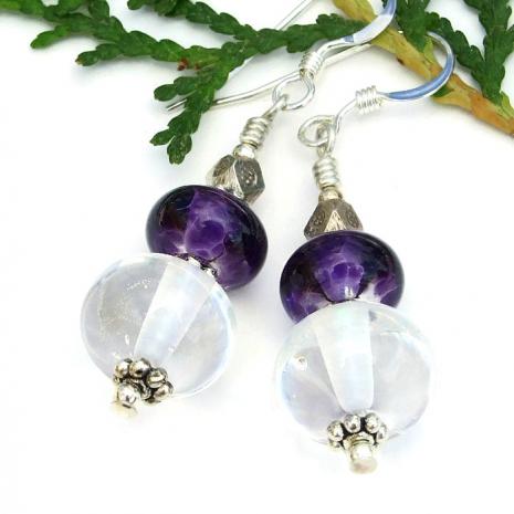 lampwork earrings gift idea for her