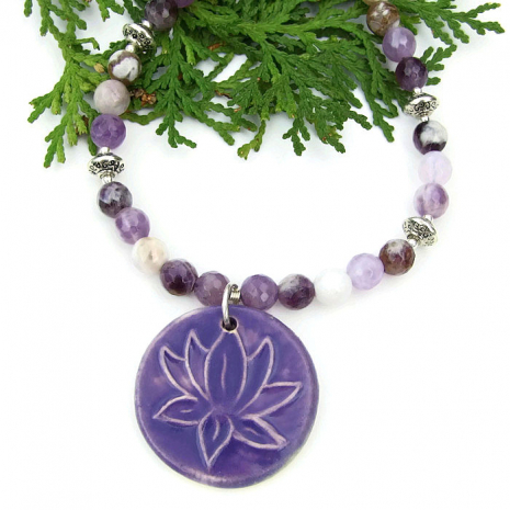 Lotus yoga jewelry