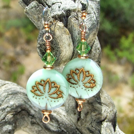 lotus flower jewelry gift for women