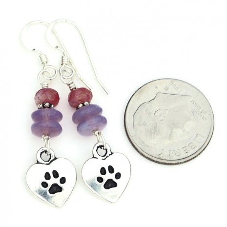 dog rescue jewelry gift for women