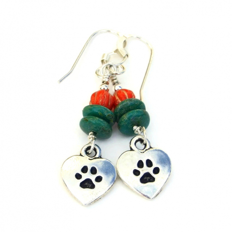 love my dog jewelry gift for women