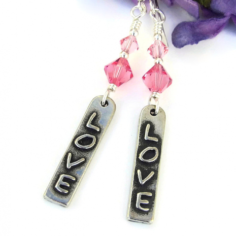 valentines love jewelry for women gift idea