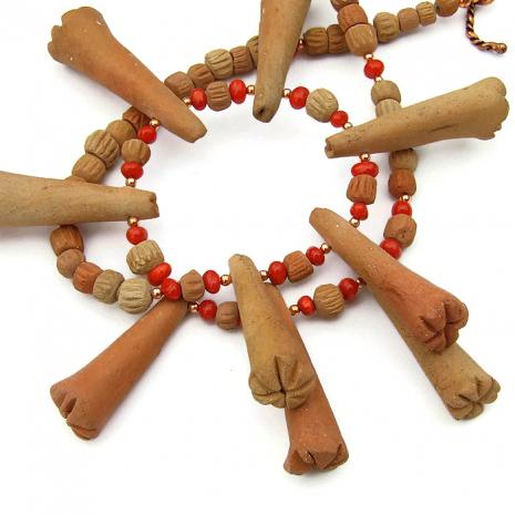 Mali tribal necklace