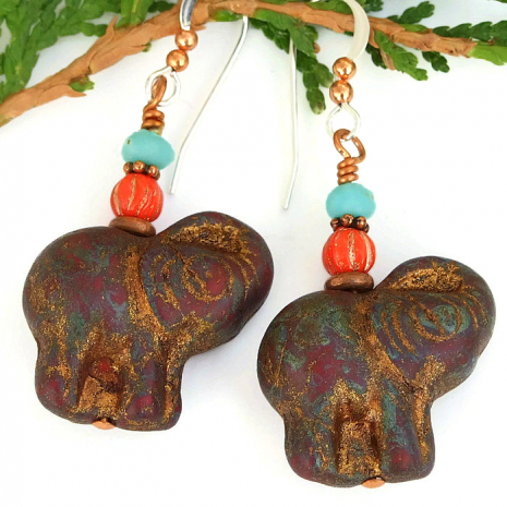 elephant jewelry for women