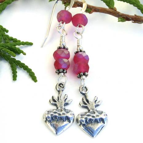 Milagros earrings.