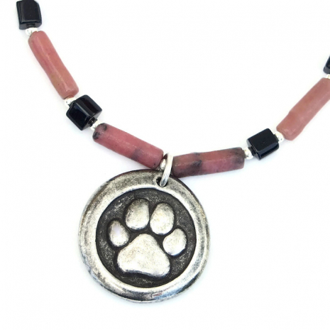 One of a kind dog rescue jewelry for her.