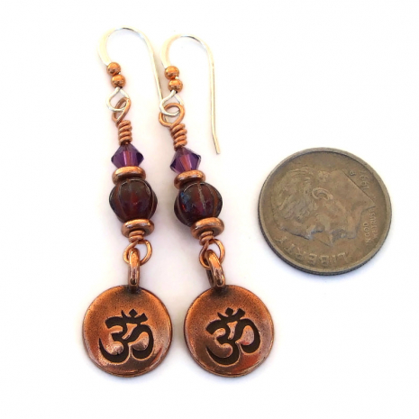 om meditation jewelry gift for her