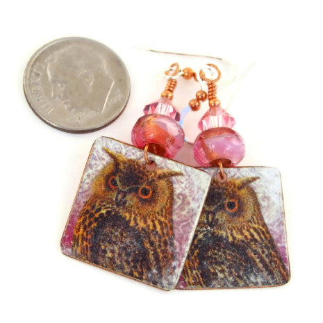 owl jewelry gift for her