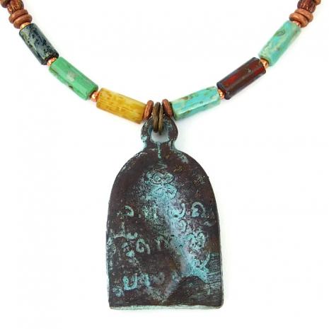 Shakyamuni Buddha pendant necklace.