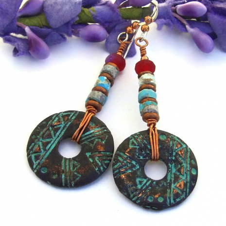 petroglyph mykonos and turquoise jewelry for her