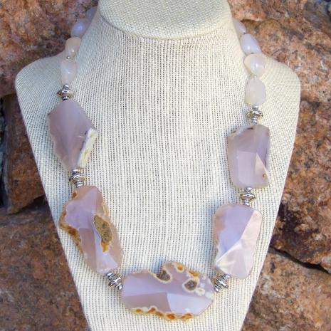 Pink gemstone jewelry for women.