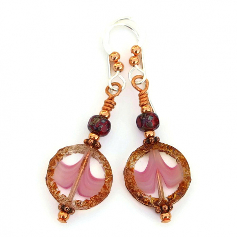 small czech glass jewelry for women gift idea