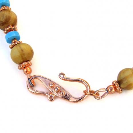 pure copper hook clasp set