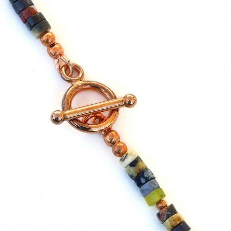 pure copper toggle clasp set