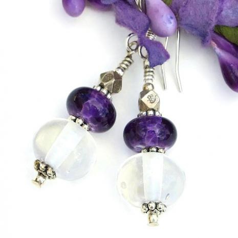 lampwork earrings gift for her