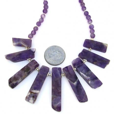 purple amethyst jewelry sterling silver