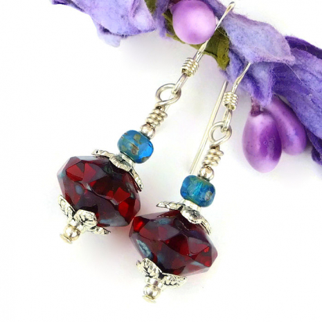 red Valentines jewelry for women