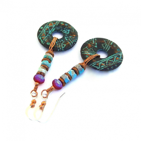 rustic handmade tribal jewelry