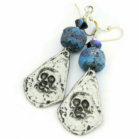 skull jewelry gift for women