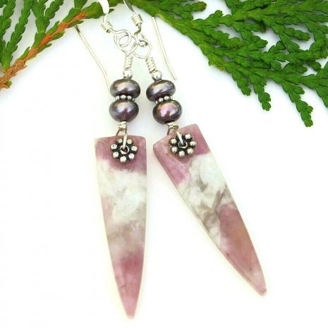 spike gemstone jewelry gift for women